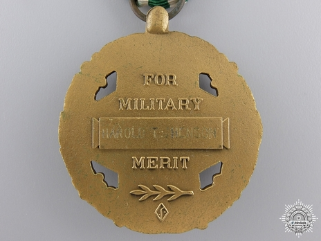 Joint Service Commendation Medal Reverse