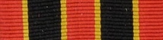 I Class Medal (for Bravery) Ribbon