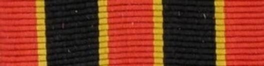 I Class Medal (for Bravery) Ribbon