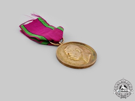 "Saxe-Altenburg House Order Medals of Merit, Civil Division, Type IV, in Gold (stamped ""L CHR.LAUER NURNBERG"")"