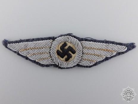 DLV Radio Operator Badge Obverse