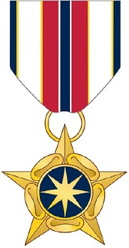 National Intelligence Medal for Valor Obverse Depiction