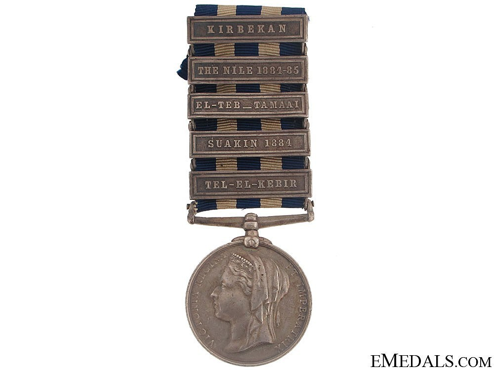 Silver medal with 5 clasps obverse1