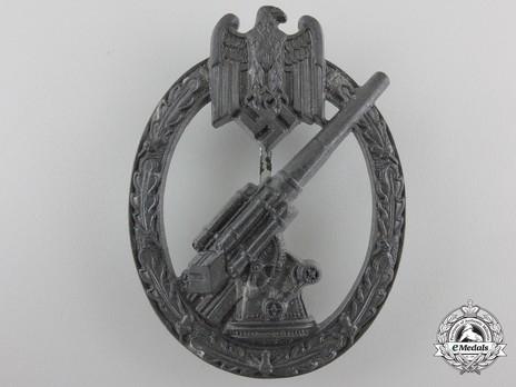 Army Flak Badge, by Förster & Barth Obverse