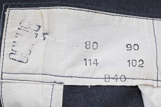 German Army Field Trousers (1st pattern) Maker Mark