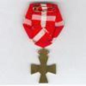 Cross (King Christian X for 8 years) Reverse