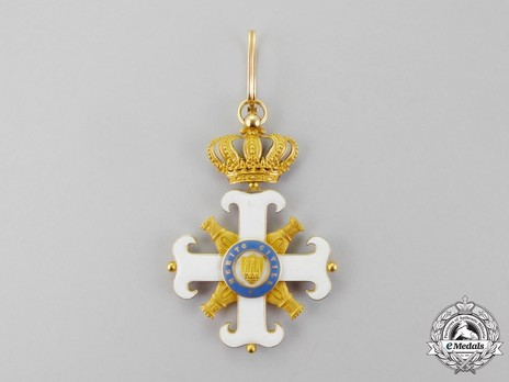 Order of San Marino, Type I, Civil Division, Commander Reverse