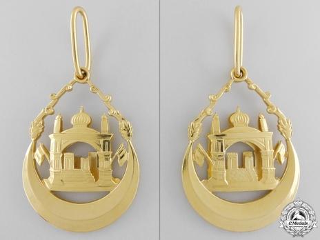 Order of the Leader (Nishan-i-Sadari),  I Class Grand Cordon (Sardar-i-A'ala) Obverse and Reverse