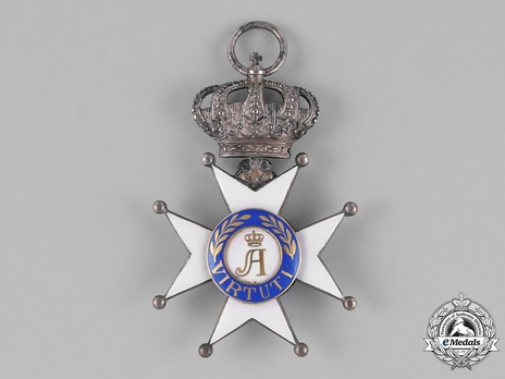 Order of Civil and Military Merit of Adolph of Nassau, Officer with Crown