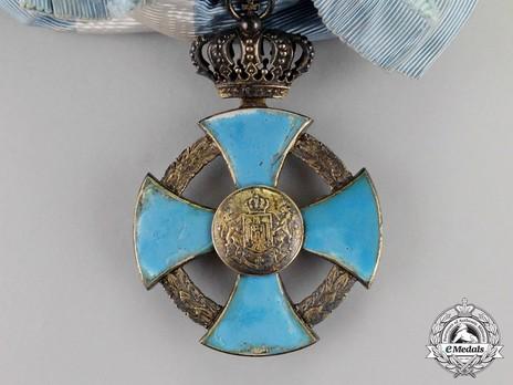 Order of Faithful Service, Grand Cross Obverse