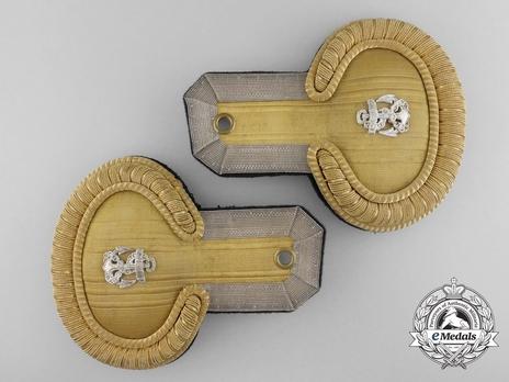 Kriegsmarine Leutnant Epaulettes Obverse