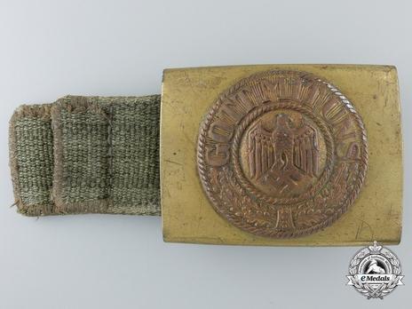 Kriegsmarine NCO/EM Belt Strap (Fabric version) Obverse