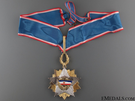 Order of the Yugoslav Flag, III Class Obverse