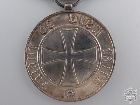 Silver Medal Reverse
