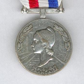 """Silver Medal (stamped """"GEORGES GUIRAUD,"""" 1953-1977) Obverse"""