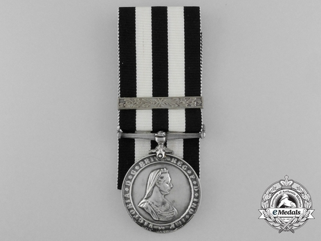 Silver Medal (with 1 Maltese cross clasp, 1947-1960) Obverse