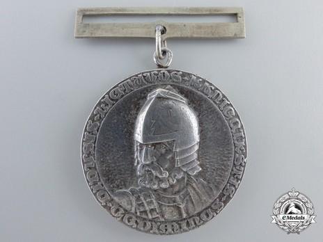 Order of Gediminas, Type II, II Class Medal Obverse