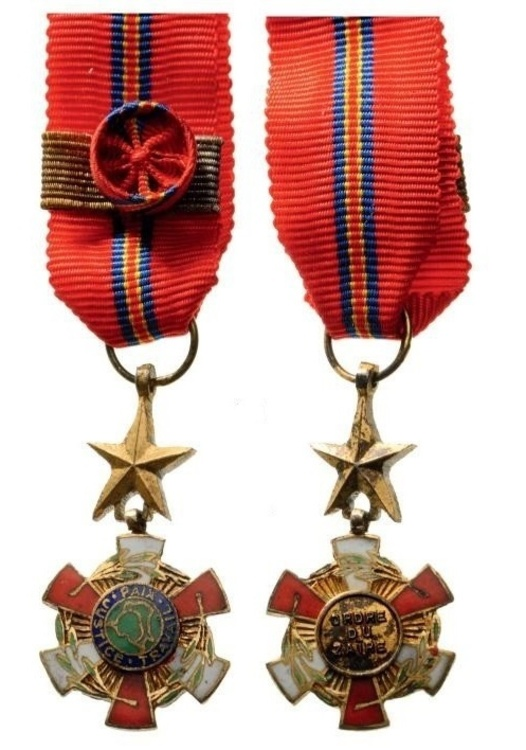 Miniature grand officer drc obverse and reverse