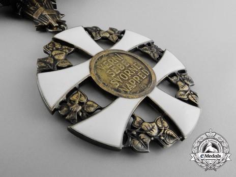 Order of the Slovak Cross, I Class Grand Cross Reverse