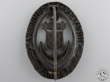 Bronze Badge Reverse