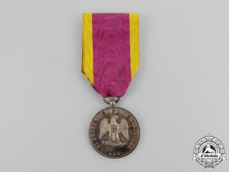 Medal for 1000 Volunteers, in Silver Obverse