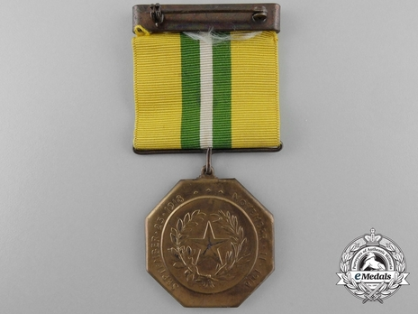 Texas Cavalry Congressional Medal Reverse