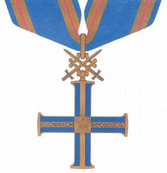 Order of the Cross of Independence, I Class Obverse