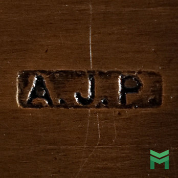 A.J.P Mark on an Australian Gallipoli Star