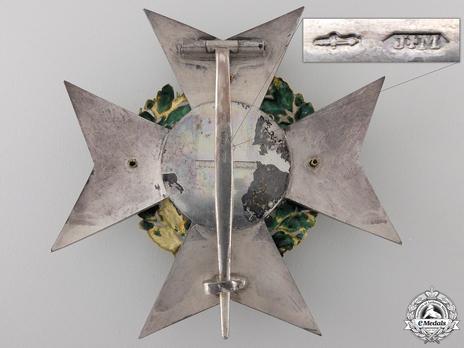 Grand Officer Breast Star (Gold by Joh. F. van der Horst) Reverse