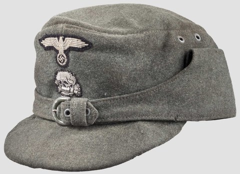 Waffen-SS NCO/EM's Mountain Cap (buckled version) Profile