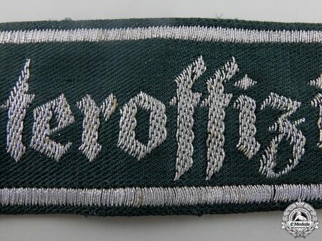 German Army Unteroffiziervorschule Cuff Title Obverse Detail 2