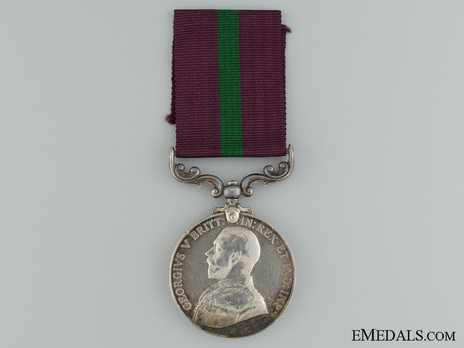 King's African Rifles Long Service and Good Conduct Medal Obverse