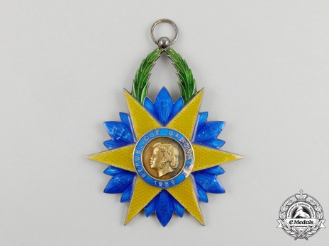 Order of the Equatorial Star, Grand Cross Obverse