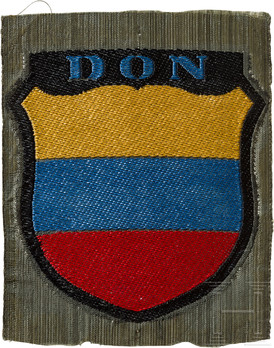 German Army Don Cossacks Sleeve Insignia (1st version) Obverse