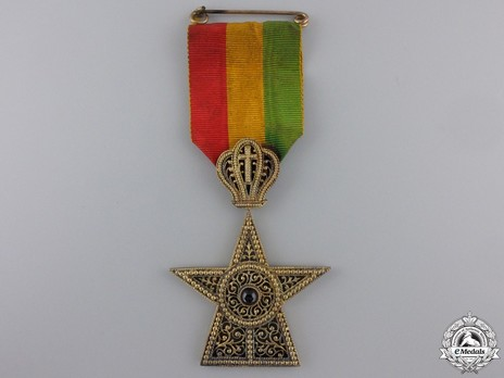 Order of the Star of Ethiopia, Knight Obverse