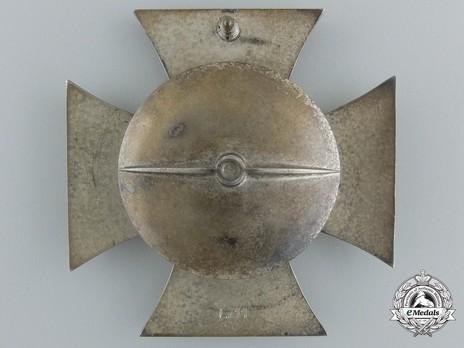 Iron Cross I Class, by W. Deumer (L/11, screwback) Reverse