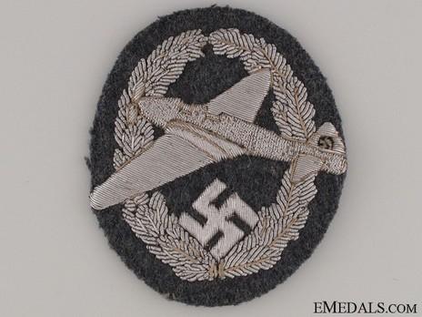 NSFK Motor Pilot's Badge, Type I Obverse