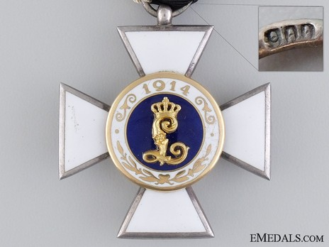Order of Military Sanitation, II Class Cross Obverse