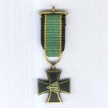 Miniature Cross of Armoured Division Obverse
