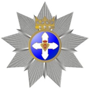 Order of Vytautas the Great, Grand Cross Breast Star Obverse
