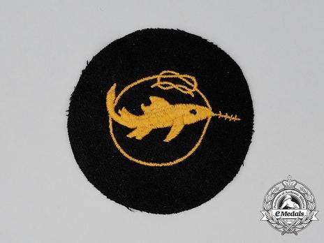 Naval Combat Badge of Small Battle Units, I Class Obverse