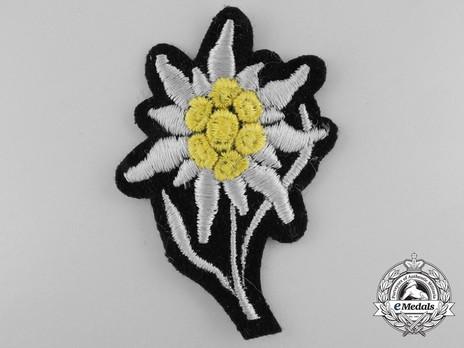 Waffen-SS NCO/EM's Cap Edelweiss Obverse
