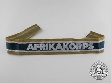 German Army Afrika Cuff Title (1st version) Obverse