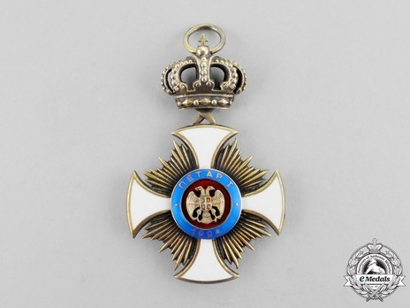 Order of the Star of Karageorg, Civil Division, I Class Reverse