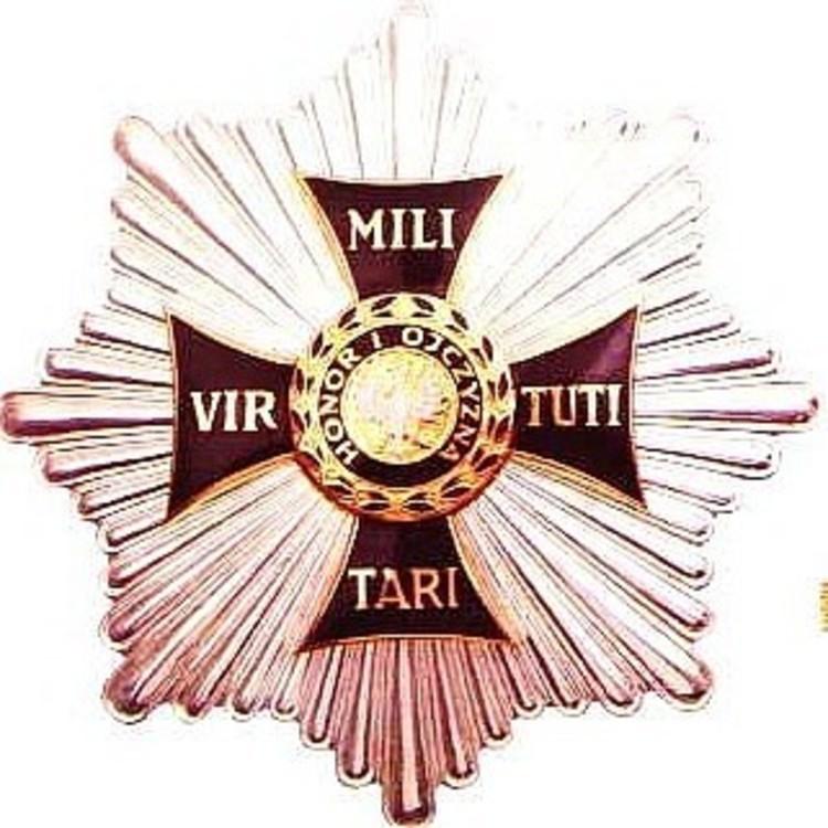 Virtuti militari grand cross order star