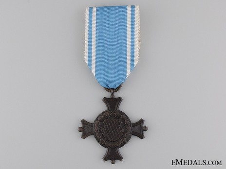 Military Long Service Decoration, II Class Cross (in blackened bronze) Obverse