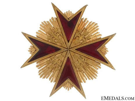 Grand Cross Breast Star (with bronze gilt) Obverse