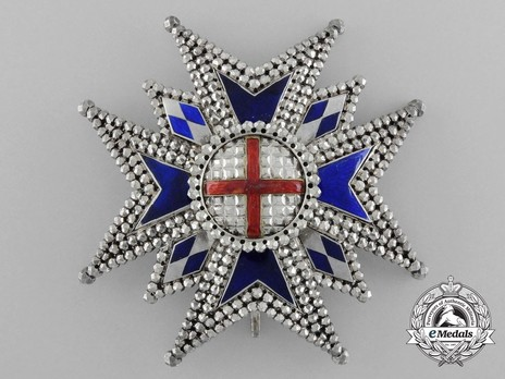 Military Order of St. George, Commander Cross Breast Star Obverse