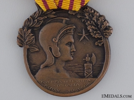 "Bronze Medal (stamped ""L. FASSINO"") Obverse"
