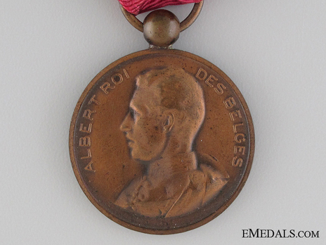 "Bronze Medal (with ""A"" clasp) Obverse"